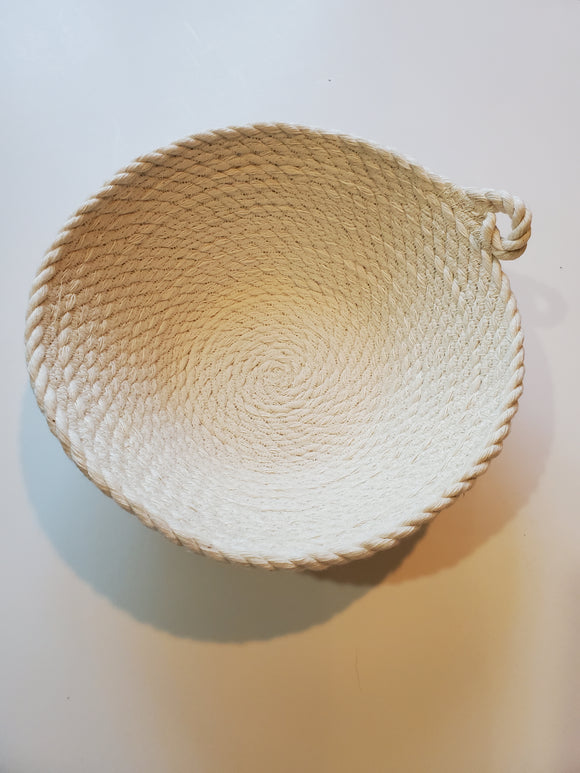 Cotton Rope Bowl - 7 inch