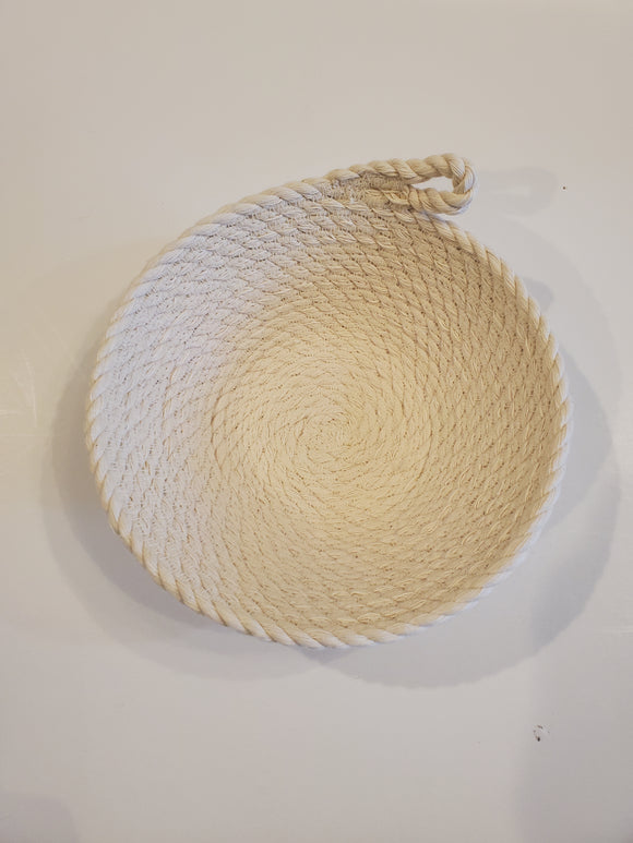 Medium Cotton Rope Bowl - 6 inch