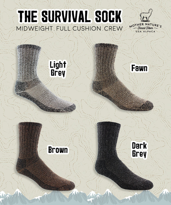 NEAFP Survival Socks