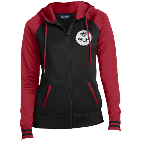 Ladies' Full-Zip Hooded Jacket