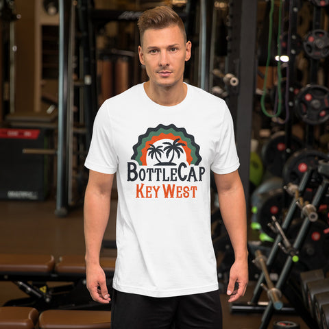 Unisex BottleCap T-Shirt - Back Slogan