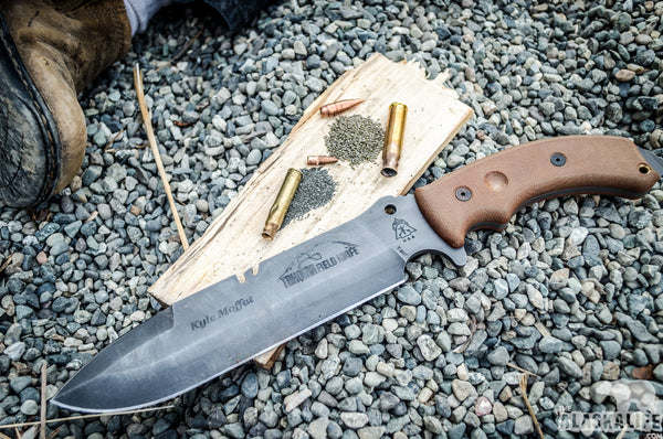Tahoma Field Knife - TOPS Makes a Do-All Blade