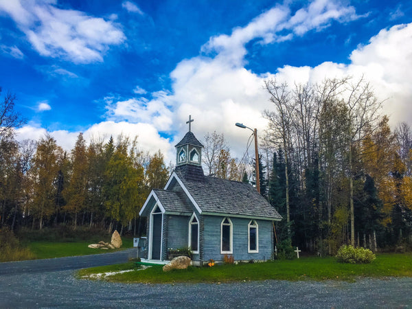 This Tiny Alaska Chapel Might Just Be The Most Unique In The World