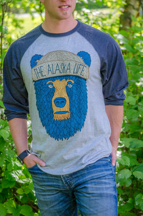 Bear-Bro Baseball Tee