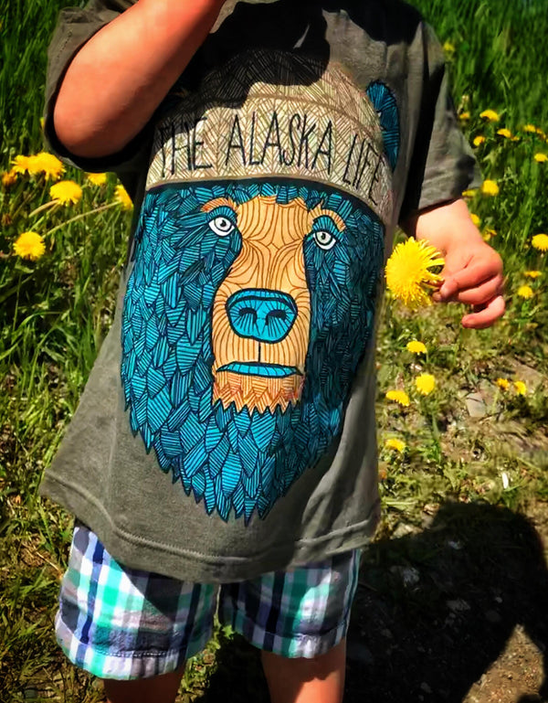 Youth Bear-Bro Tee