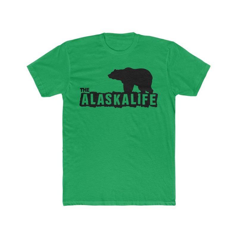 The Alaska Life Bear Men's Cotton Crew Tee