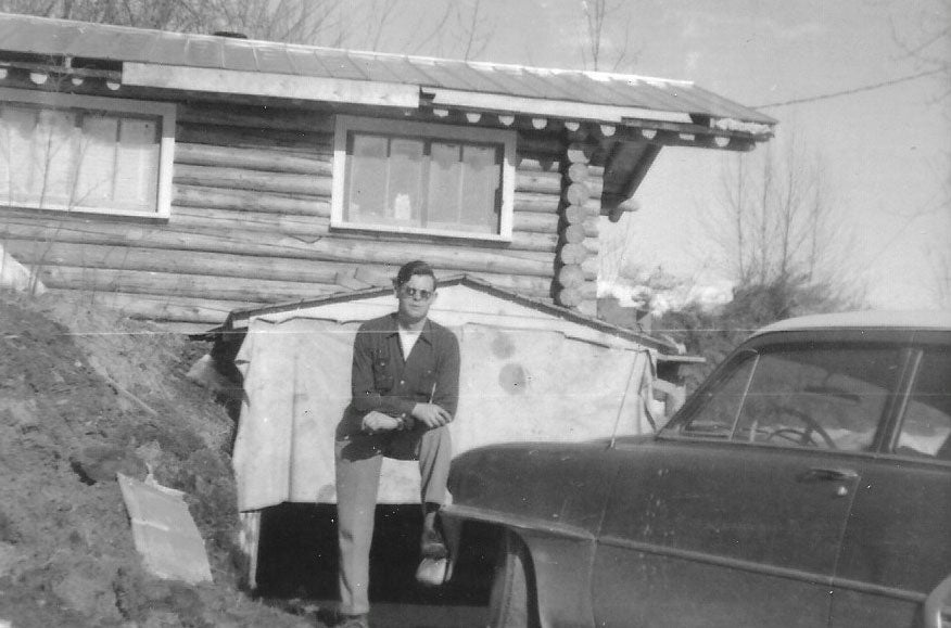 Malachy when he first arrived in Fairbanks - 1951