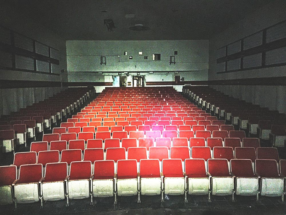 Bering Theater - Located in the Recreation Hall on Bering Hill.