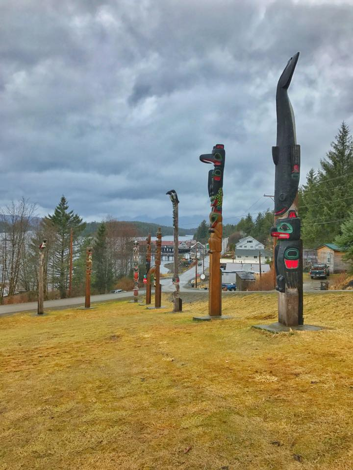 Totem Poles on Prince of Wales Island