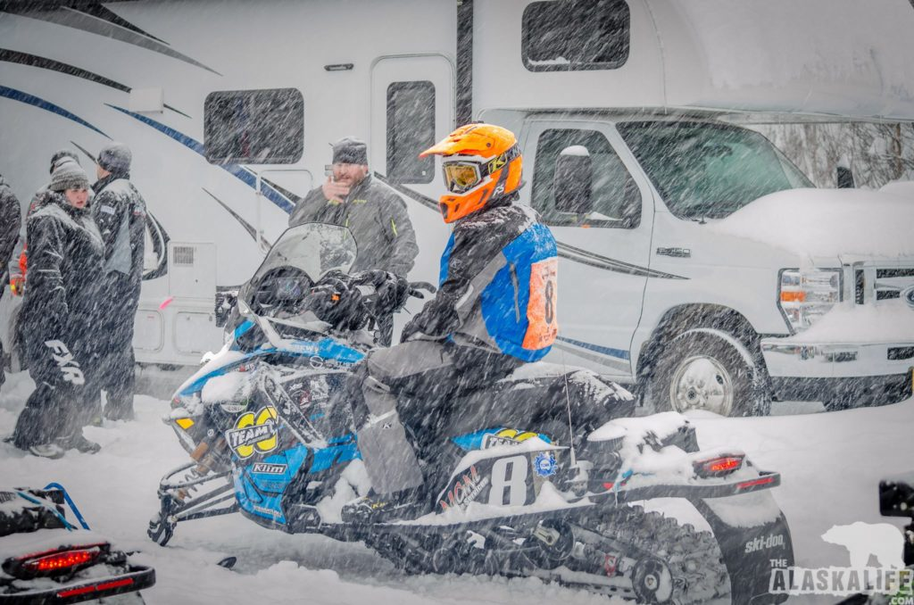 2019 Iron Dog Team 8 start