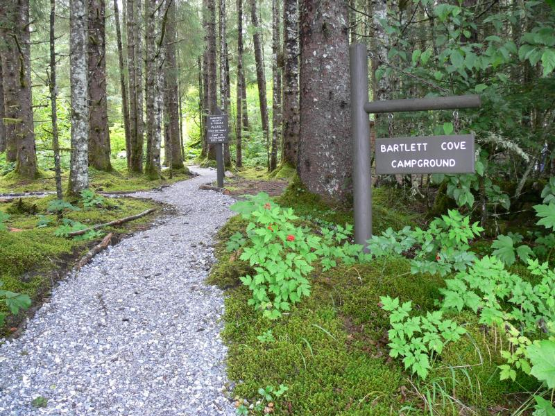 Bartlett Cove Campground