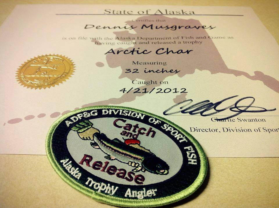 alaska's trophy fish program