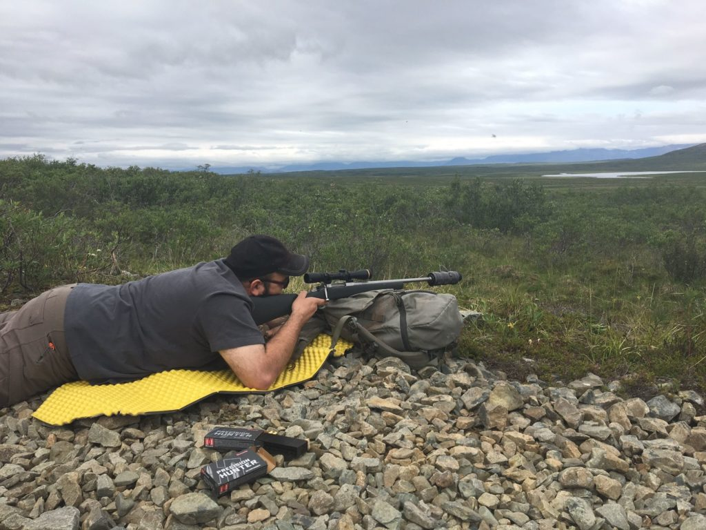 Caribou Rifle Prone Tundra