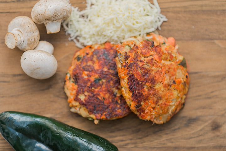 cheesy salmon cakes
