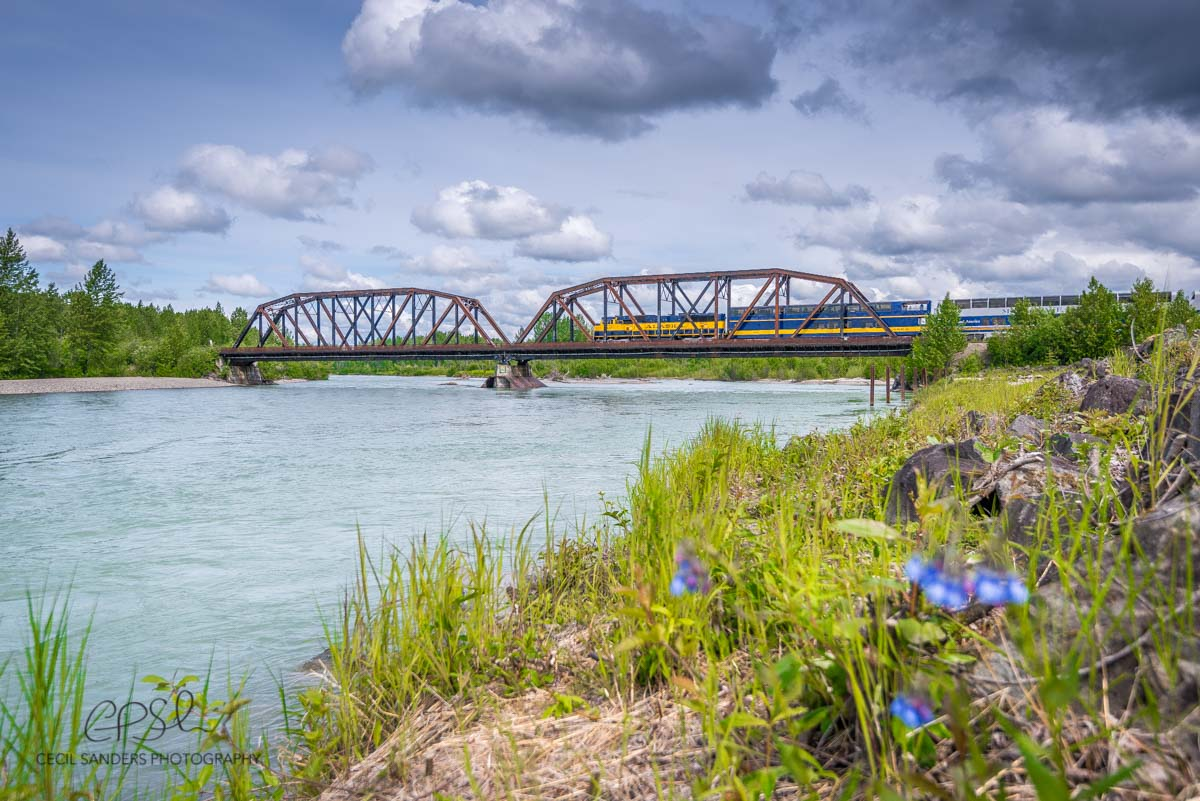 Alaska Railroad in Talkeetna by Cecil Sanders Photography Top Ten Things to do in the Mat Su