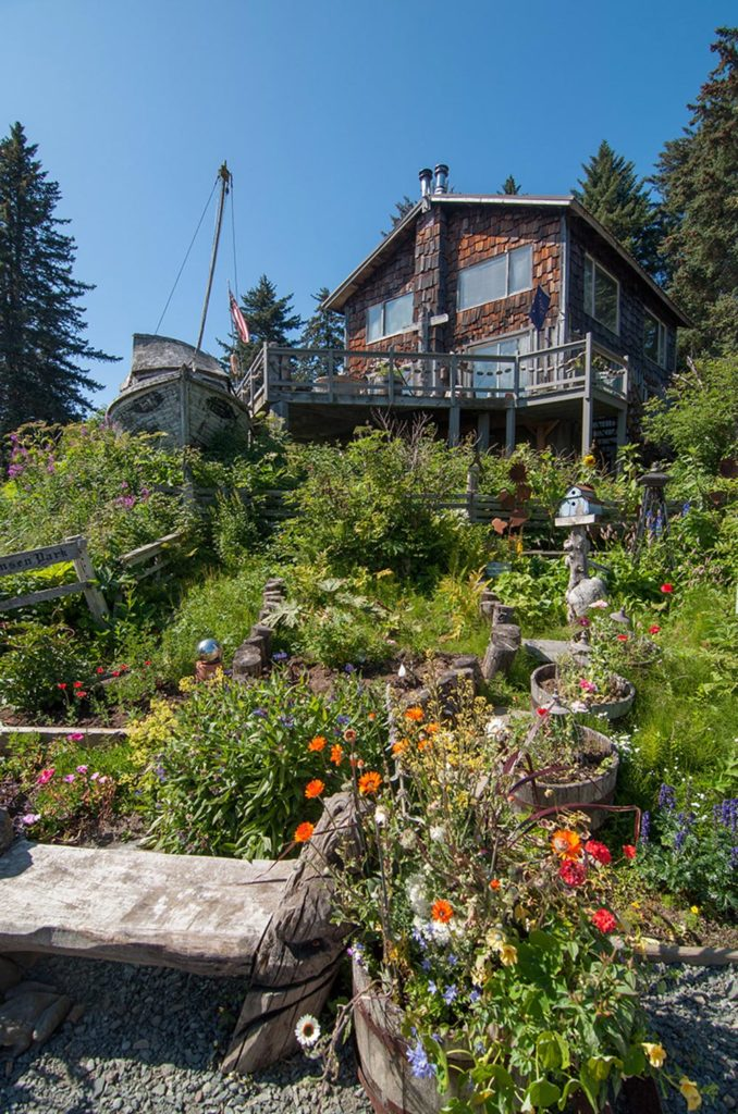 A Day in Seldovia waterfront homes