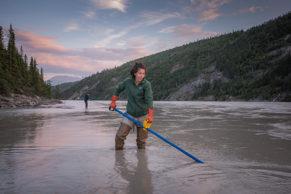 Sweeping on the Copper River