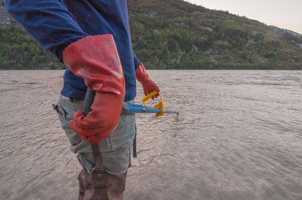 Sweeping On the Copper River for red salmon.