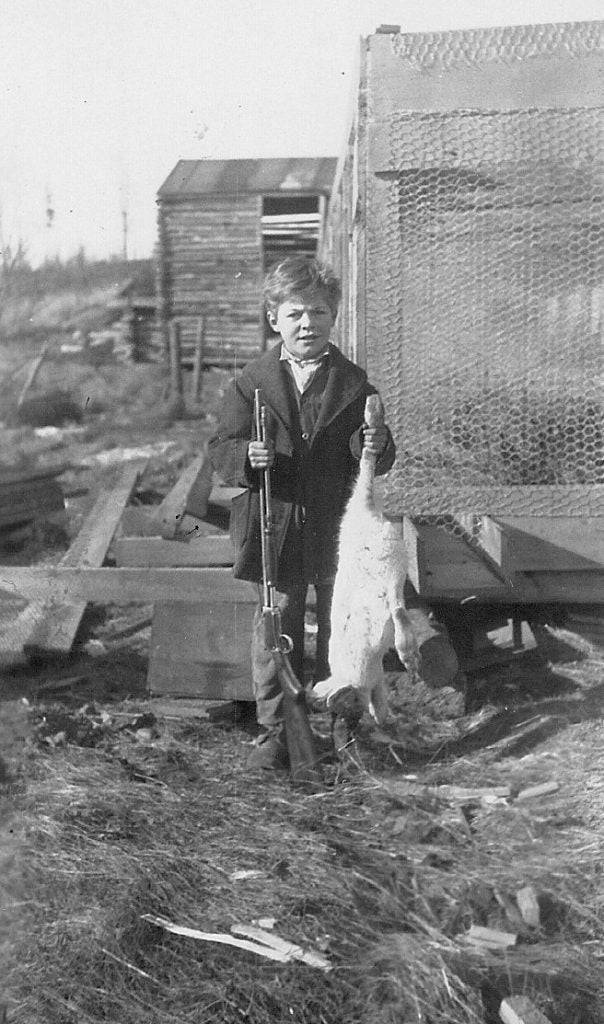 Lincoln Peter as young boy