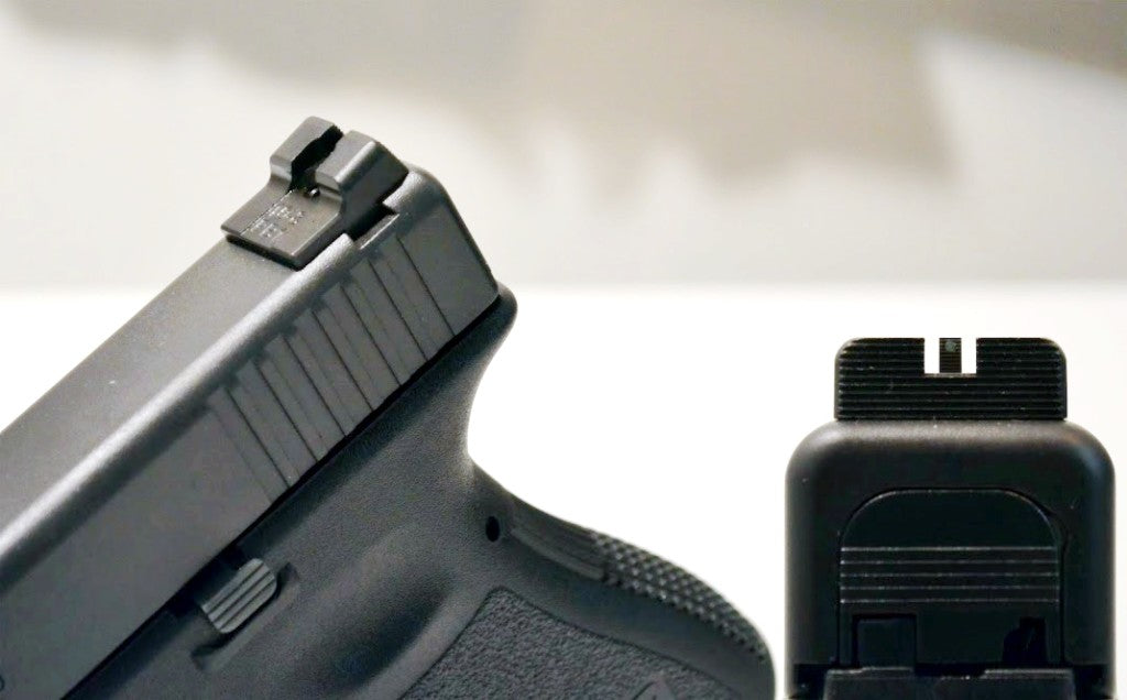 practical glock modifications redback one combat pistol sights