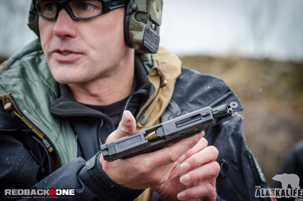 Redback One Basic Pistol Course Malfunction Clearance