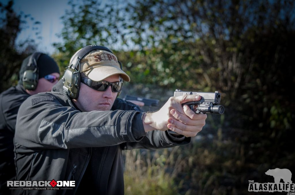 Redback One Basic Pistol Course Sweep
