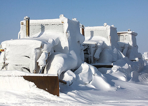 Snow Covers Everything Alaska Moore Heating