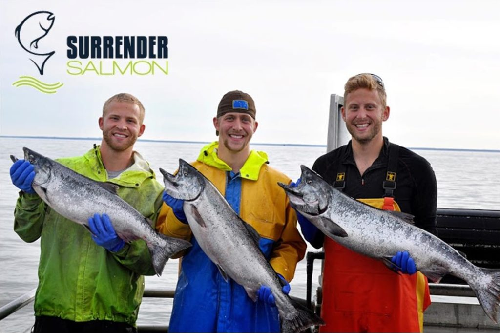 Surrender Salmon brothers