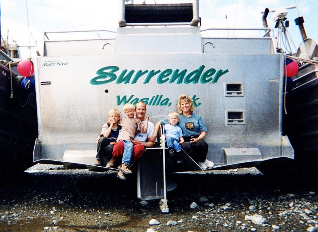 Surrender Salmon early years stern