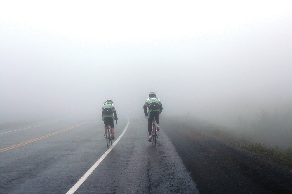 A foggy ride through Thompson Pass