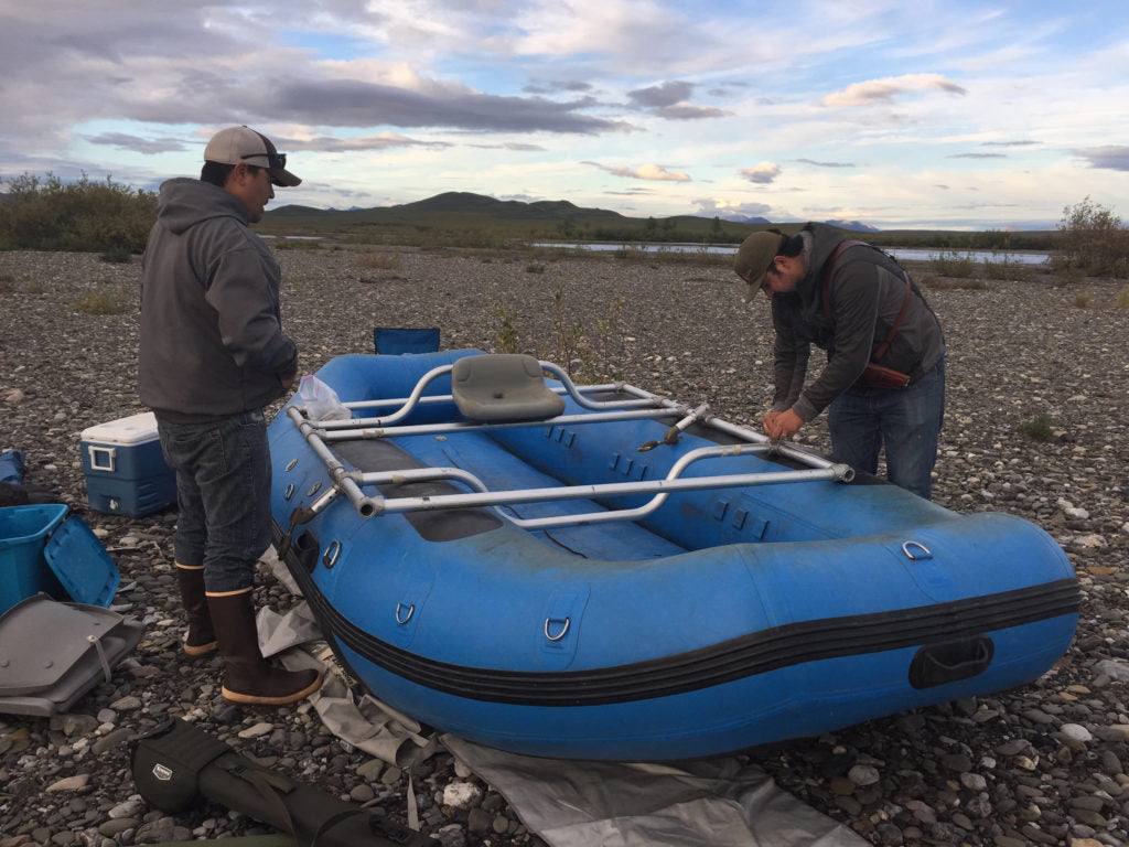 Wulik River Dolly Varden Fishing Raft Assembly