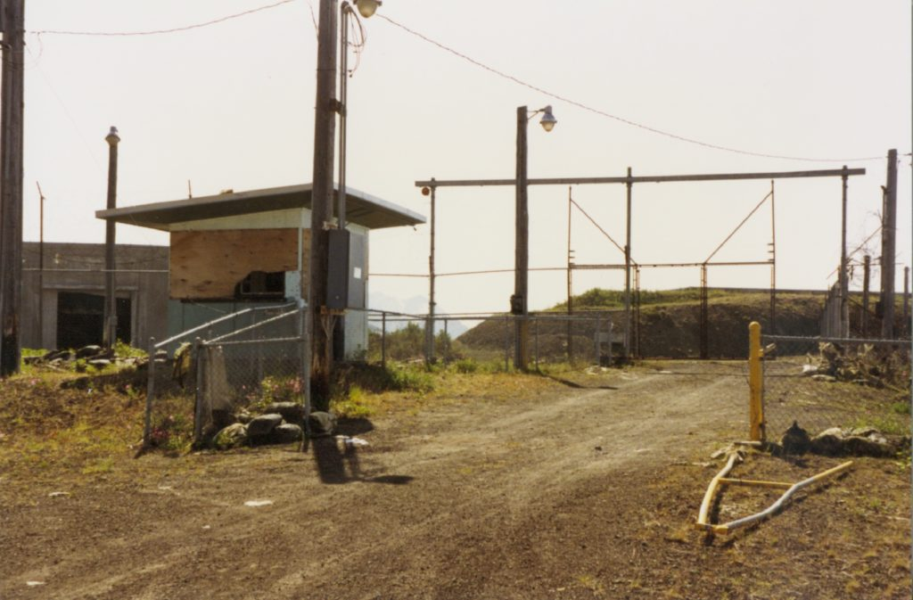 Gate to missile control and launch area Site Summit