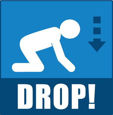 what to do in an earthquake drop