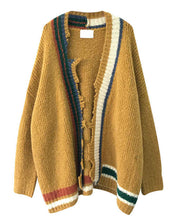 #WR12501 Loose Knitting Cardigan