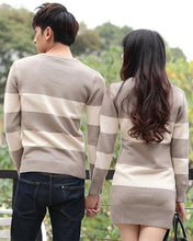 #CP17004 Stripe V-Neck Sweater/Dress