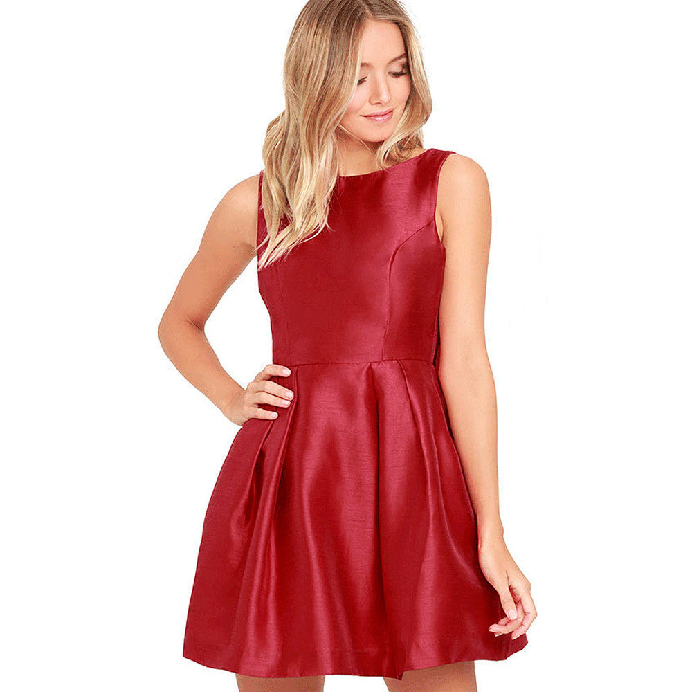 #AH17016 Jersey dress with a tie