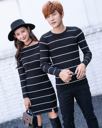 #CP17006 Stripe Sweater/Dress