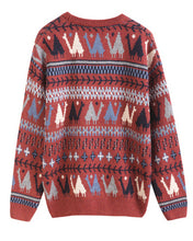 #CP17023 Geometric Sweater