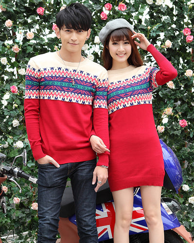 #CP17001 Geometric Sweater/Dress