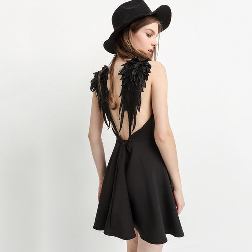 #AH17001 Wings dress