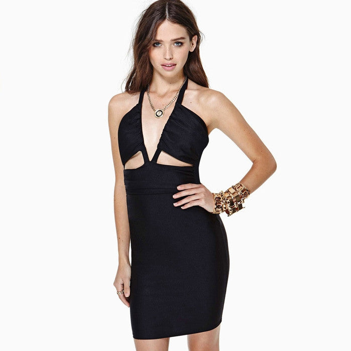 #AH17043 V-neck Dress