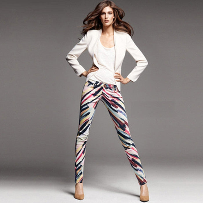 #STH17724 Patterned trouser