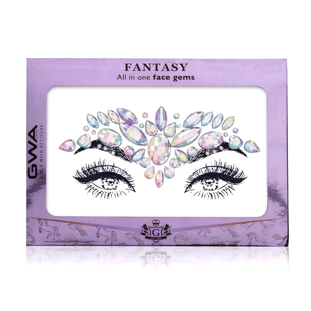Galactic Girl | Holographic Fantasy Face Jewels