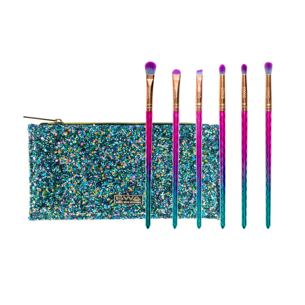 Mermaid Tears Collection | 6pcs Eye Makeup Brush Set