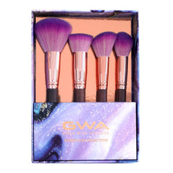 Fairytale Collection | 4pc Face Makeup Brush Gift Set