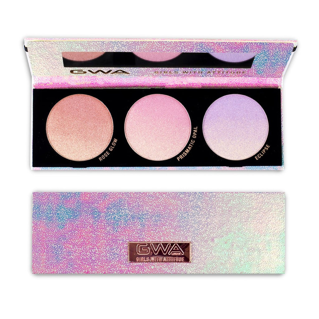 Galactic Glow | Ombré Iridescent Highlighting Palette