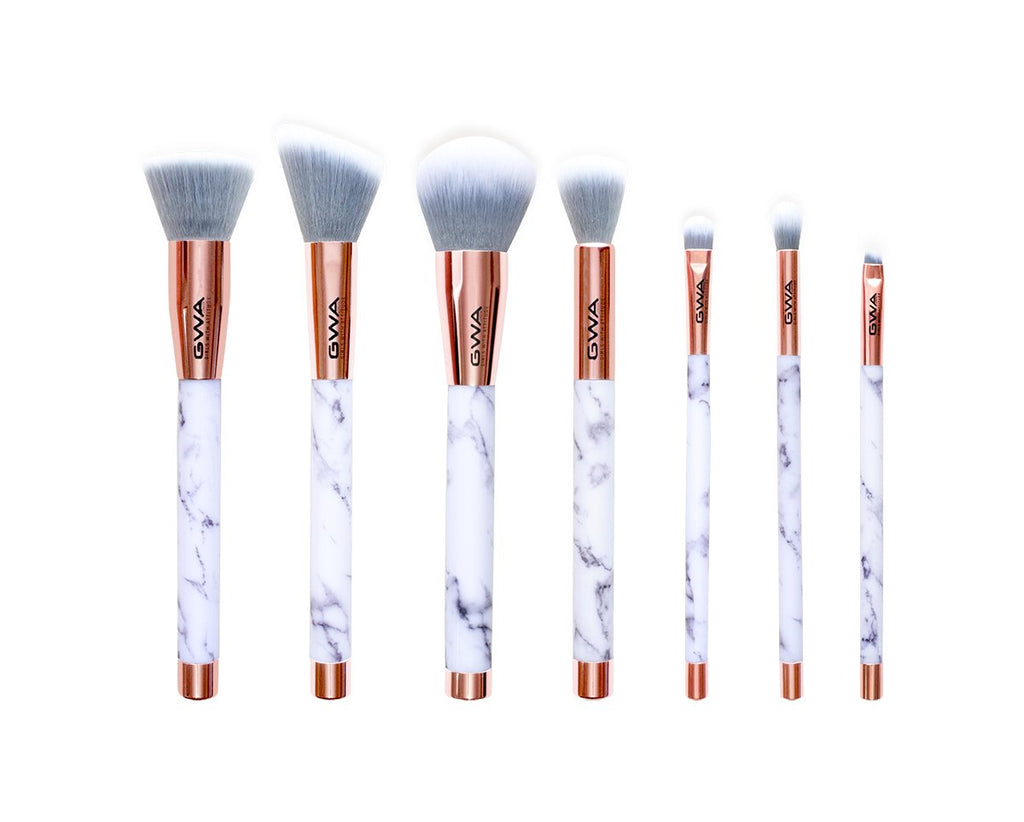 The Marble Collection | 7pcs Makeup Brush Set