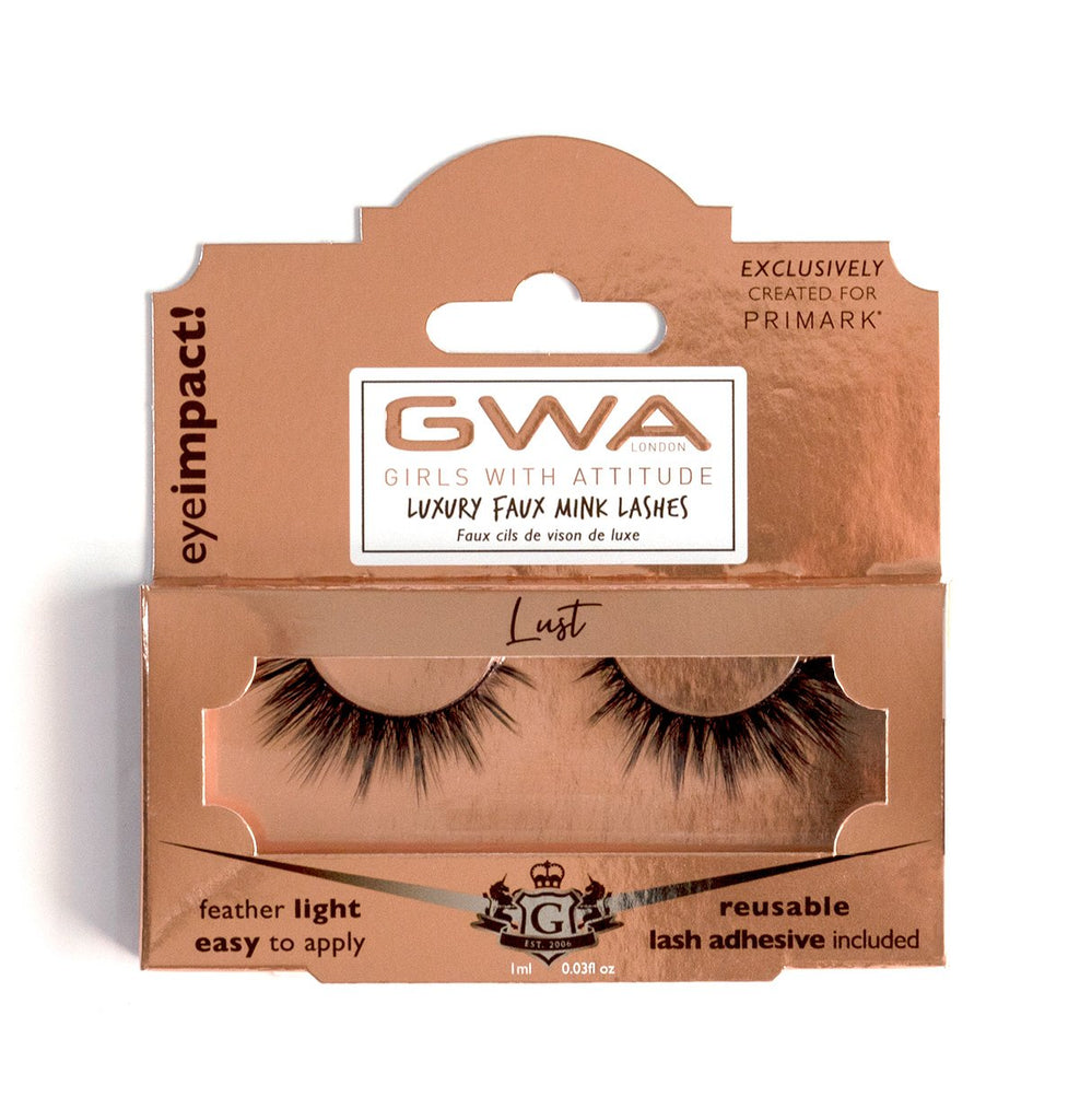 Lust | GWA x Primark  | Luxury Faux Mink Lashes