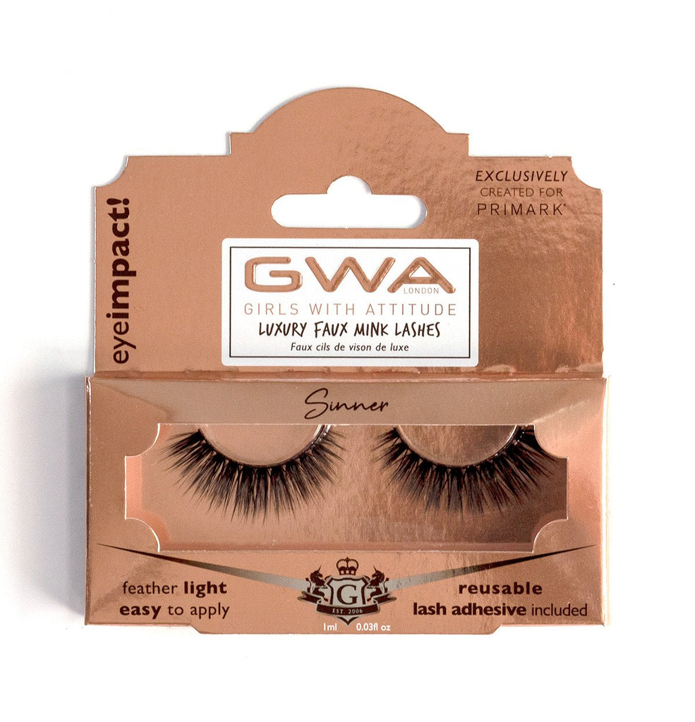 Sinner | GWA x Primark  | Luxury Faux Mink Lashes