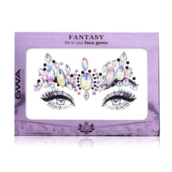 Ice Princess | Holographic Fantasy Face Jewels